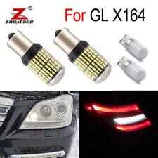 4pc LED exterior reverse lights + Parking lamp for Mercedes Benz GL X164 (06-12)