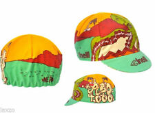 Chapeaux, casquettes et bandeaux rouge pour cycliste
