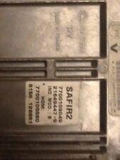 Safir2 7700109049 Anti Démarrage Débloqué Definitivement