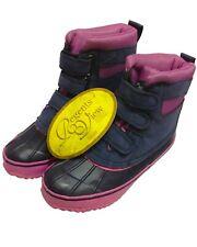 Regents View Ladies waterproof  Equestrian Walking Stable Boots - Pink/navy