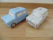Classic BMC Mini original early 1960s ceramic money boxes