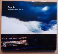 SOPHIA - TECHNOLOGY WON'T SAVE US (Limitierte 2 CD Edition) CD Neuw.