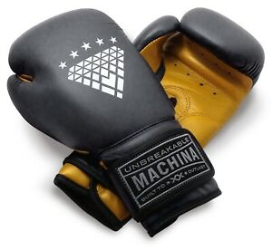 Machina Carbonado 12 Ounce Women's Leather Boxing Gloves - YELLOW/GRAY