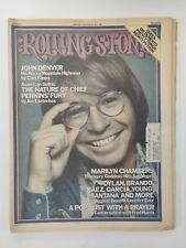Rolling Stone Magazine - May 8 1975 #186 John Denver Marilyn Chambers, Dylan