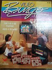 Video Bingo board game retro! vintage! 80's!