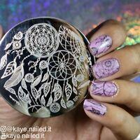 BORN PRETTY Nail Art Stamping Plate Dream Catcher Design Image Template BP-131