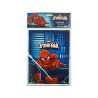 SPIDERMAN LOOT BAGS LOLLY TREAT PACK OF 8 BIRTHDAY PARTY SUPPLIES