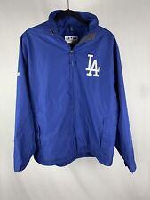 Los Angeles Dodgers Majestic Jacket Men's Medium Full Zip