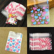 20 pcs / 40 pcs cellophane pour cookie, mariage, anniversaire, bonbon, emballage