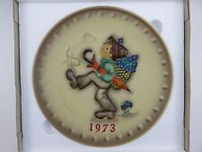 Hummel 1973 Annual Collector's Plate 3rd In Series With Box Made In Germany
