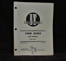 I&T shop manual for John Deere 6030 tractor authentic 1975 edition