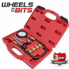 Automotive Petrol Engine Compression Tester Test Kit Gauge Car Motorcycle Quad