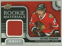 2015-16 Upper Deck Rookie Materials #RM-AP Artemi Panarin NM