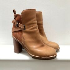 Acne Cypress Boots Tan Size 38