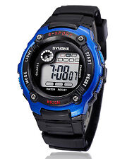 Multifunction Waterproof Electronic Sport Digital Wrist Watch For Child Girl Boy