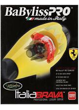 BabylissPro Italia Brava Luxury Salon Hair Dryer 2000W Ferrari Design Engine-New