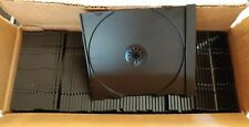 (70) Black Replacement CD/DVD/DISC Trays-Inserts-Sleeves for CD·DVD Jewel Boxes
