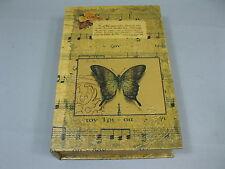 Livre avec boîte ROSES Boîte à Cadeau Boîte à bijoux 33 cm x 22 cm