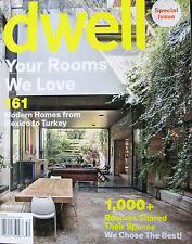 DWELL MAGAZINE SPECIAL ISSUE SPRING 2015, YOUR ROOMS WE LOVE.