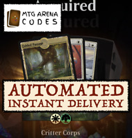 MTG Arena Code : Welcome Booster Deck Critter Corps CORE SET 2021 INSTANT EMAIL
