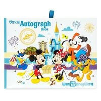 NEW Walt Disney World Parks Mickey Mouse & Friends Official White Autograph Book