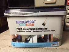 blowerproof liquid luchtdicht