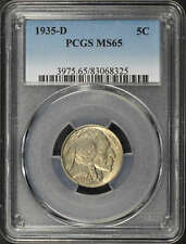 1935-D Buffalo Nickel PCGS MS-65 -158394
