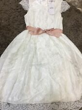 BNWT M&S Girls occasion Dress lace Size 13-14 years