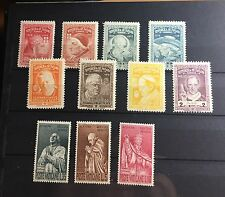 Panama Unissued Popes Stamps Missing One MNH