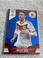2014 Panini Prizm World Cup Base Blue Prizm Germany  Mesut Ozil 096/199