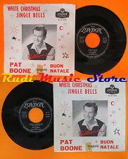 LP 45 7'' PAT BOONE White christmas Jingle bells 1962 italy LONDON cd mc dvd*