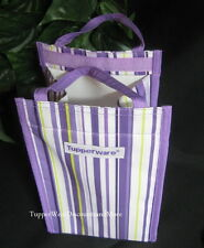 Tupperware NEW Purple Insulated Reusable Lunch Sack Bag Tote
