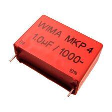 WIMA Polypropylen Folienkondensator Kondensator MKP4 1000V 1uF 37,5mm 089707