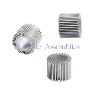 20X 3Watt LED Industrial Aluminum Heatsink Round Sun flower radiator OD32ID20H26
