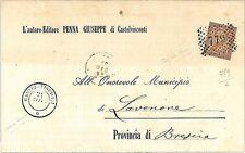 ITALIA REGNO: Annullo Numerale 779: CASTEL-VISCONTI L15