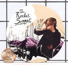BRAND NEW THE ROCKET SUMMER DO YOU FEEL RARE STICKER