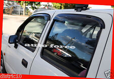 PREMIUM WEATHER SHIELD WINDOW VISOR SUIT TOYOTA HILUX DUAL CAB UTE 1997-2005