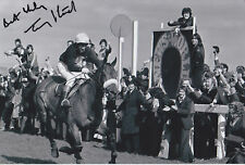 Tommy Stack Red Rum Hand Signed Photo 12x8.