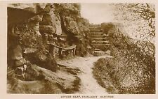 POSTCARD    SUSSEX   HASTINGS   Lovers  Seat