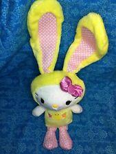 "HELLO KITTY in Bunny Costume 12"" Plush Stuffed Toy"