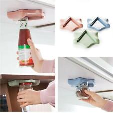 Arthritis Glass Jar Opener for Under the Kitchen Cabinet Counter Lid Remover Aid