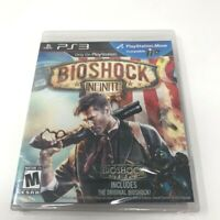 *CASE DAMAGED* BioShock Infinite PS3 BRAND NEW Factory Sealed PlayStation 3