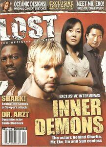 LOST The Official Magazine #3 Charlie Eko Sun Jin RARE Cover