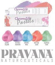 2x Haartönung PRAVANA CHROMA SILK Pastel 90ml Tube 5 zur Auswahl Haarfarbe