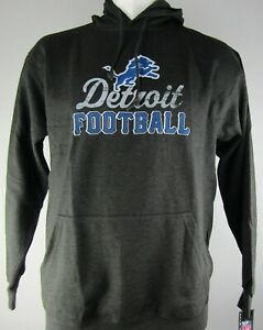 Detroit Lions NFL Majestic Men's Big & Tall Pullover Hoodie