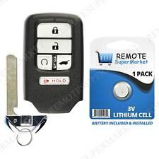 Remote For 2016 2017 2018 Honda Pilot Keyless Entry Car Key Fob