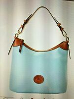 Dooney & Bourk Blue Nylon NWT Large Erica Hobo Tote Purse Handbag  Accessory