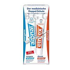 3 x ARONAL & ELMEX - set with 2 Toothpaste -  6 tubes = 450 ml - SHIPPING FREE