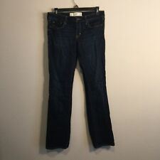 Abercrombie & Fitch Women's The A&F Skinny Boot Distressed Jeans Size 4S 27x31