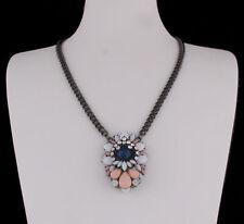 Modeschmuck-Halsketten aus Metall-Legierung mit Tropfen-Schliffform